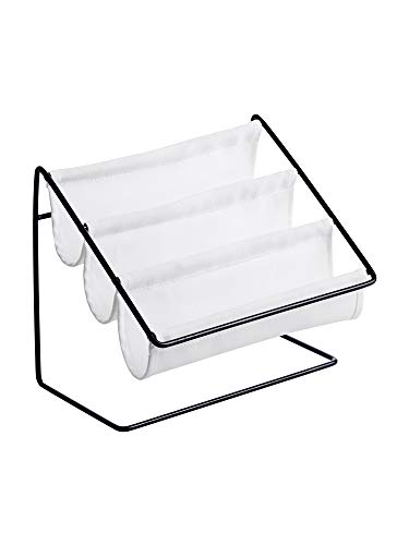 HEWEI Nordic Iron Brillengestell Sonnenbrille Solar Spiegel Rack Haushalts Lagerregal Desktop Schreibwaren Kosmetik Aufbewahrungsbox
