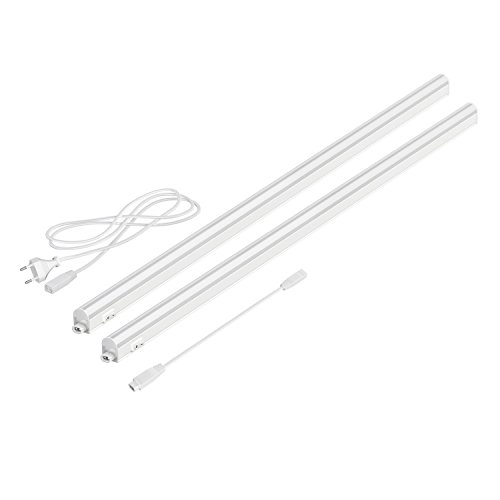 parlat LED Unterbau-Leuchten Rigel, je 87,3cm, 40cm Kabel, 1000lm, weiß, 2er Set
