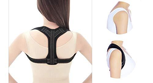 JOJYO Corrección de Postura Correas Correctoras de Postura Espalda Recta Soporte Apoyo Transpirable para la Columna Vertebral Fixget Posture Corrector para Mulheres e Homens para Espalda