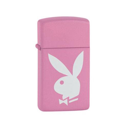 zippo-ladies-slim-design-playboy-pink-white-lighter-in-black-presentation-box