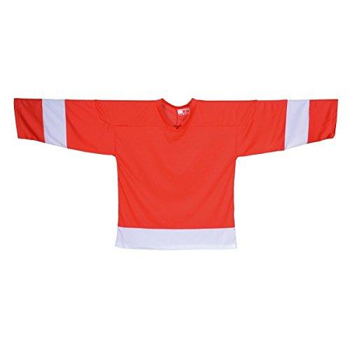 Sher Wood NHL Style Trikot Detroit rot (M)