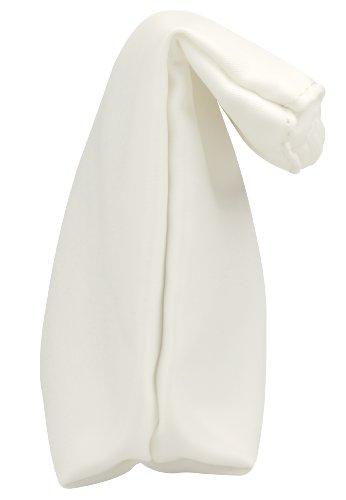 Capelli New York Clutch 'Furled' White