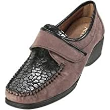 AEROSOFT Chaussures Croco Eclat - Cuir Motif Croco/ VU A LA TV/ TAILLE 38