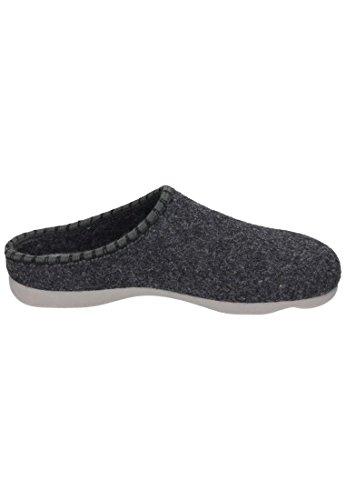 Manitu Herren 220247 Pantoffeln Grau
