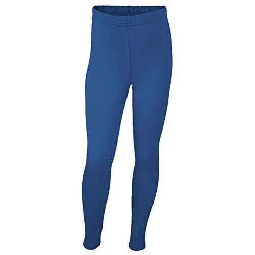 TupTam Mädchen Leggings Lang Blickdicht Baumwolle , Farbe: Kornblumenblau, Größe: 98