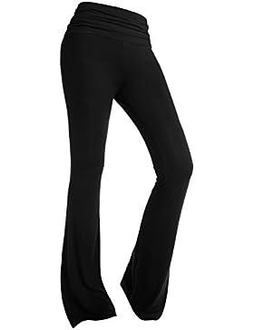 BAISHENGGT baishe nggt Mujer larga Stretch Situación Look Impacto Pantalones Pantalones