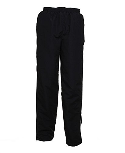 Kustom Kit -  Pantaloni sportivi  - Uomo Black/White