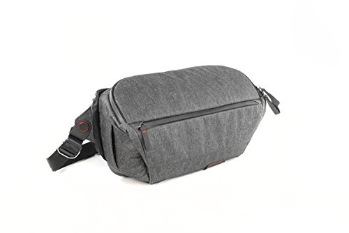 Peak Design Everyday Sling Case Charcoal – Camera Cases (Sling Case, Universal, Charcoal, Canvas, Synthetic, 33 cm, 400 mm)