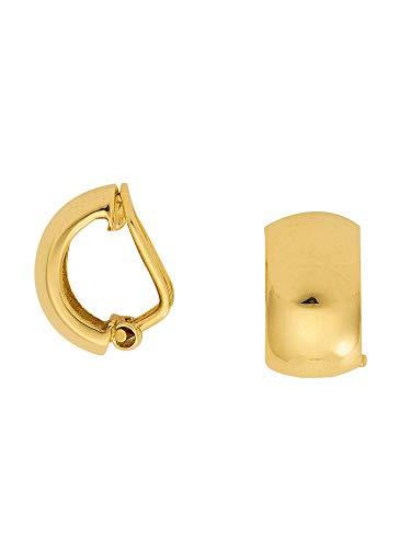 1 Paar Gold Ohrringe Ohrclips 8 k 333 Gelbgold