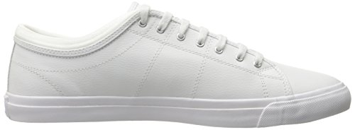 Fred Perry Kendrick Tipped Cuff Leather White Weiß