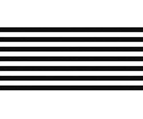 Selbstklebend-Papier-Washi Schwarzen Streifen 1.5cmx10m, Ursus, Papier, Bänder, Scrapbooking -