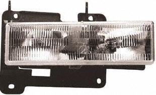 92-99 CHEVY CHEVROLET SUBURBAN HEADLIGHT RH (PASSENGER SIDE) SUV, Composite Type, Assy (1992 92 1993 93 1994 94 1995 95 1996 96 1997 97 1998 98 1999 99) 20-1668-00 15034930 by Parts Train - 1997 Chevy Suburban