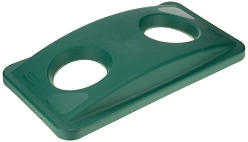 rubbermaid-fg269288-green-slim-jim-bottle-and-can-recycling-top-by-rubbermaid-commercial