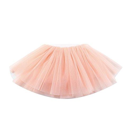 Free Fisher Kinder Mädchen Ballettrock Tanzkleid Tüllrock - in verschiedenen Farben, Pink, Gr.98(Herstellgröße: (Verschiedene Sport Kostüme)