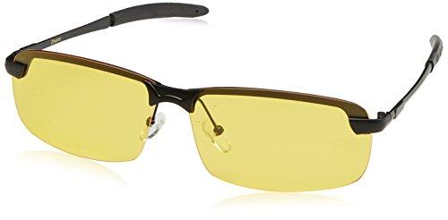 Preisvergleich Produktbild Zheino 5909 HD Nachtsicht Polarisierten Sonnenbrille, UV400 Blendfreie fahren Polarisierte Sonnenbrille Gelb