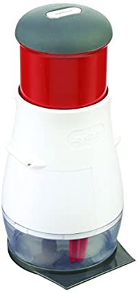Zyliss Handheld Food Chopper Zick-Zick 2, Regular, White