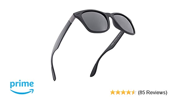 89ad27c90962 Mens Sunglasses Polarised UV Protection Suitable for Cycling Traveling  Driving Fishing (Black): Amazon.co.uk: Clothing
