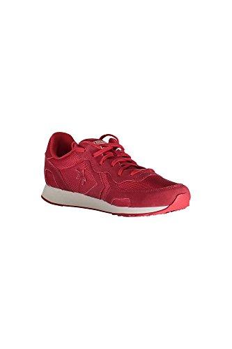 Scarpe fashion unisex Converse mod. Auckland Racer OX Mesh Suede Monochrome art. 152681C colore rosso, tomaia suede mesh
