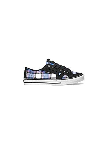 Vans  W Tory (Plaid), Chaussures femme Noir / Violet