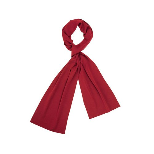 audi-4131103400-ladies-knitted-scarf-corporate-fashion-red