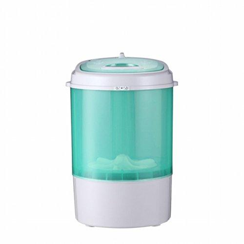 GCCI 2,5 Kg Mini Waschmaschine Kinder Unterw?sche Einzelwaschmaschine,Grün