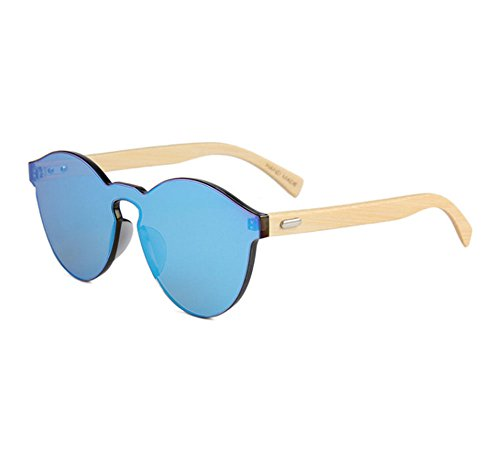 Gafas de Madera de Bambú Cristal Espejo, oferta, mejores Gafas madera espejo