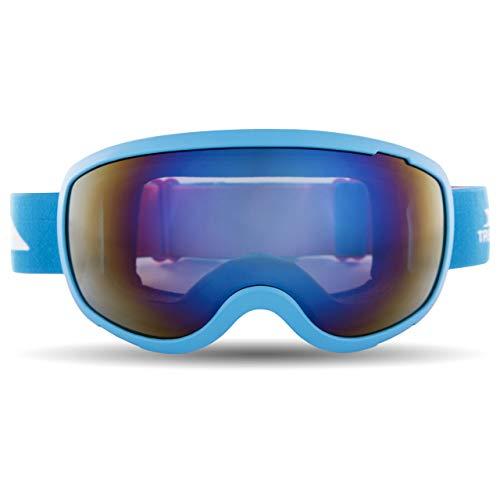Trespass Skibrille Hawkeye mit dual-sphärischen Gläsern (Einheitsgröße) (Mattes Hellblau)