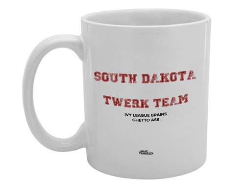 South Dakota Funny Kaffee Tee Tasse Neuheit Gag Geschenk Witz - Tee South Dakota