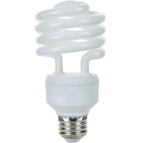 Kompaktleuchtstofflampe Sylvania Glühbirne (Sunlite sms23/65K 23-watt Medium Boden Super Mini Spirale Energiesparend, CFL Glühbirne, Tageslicht)