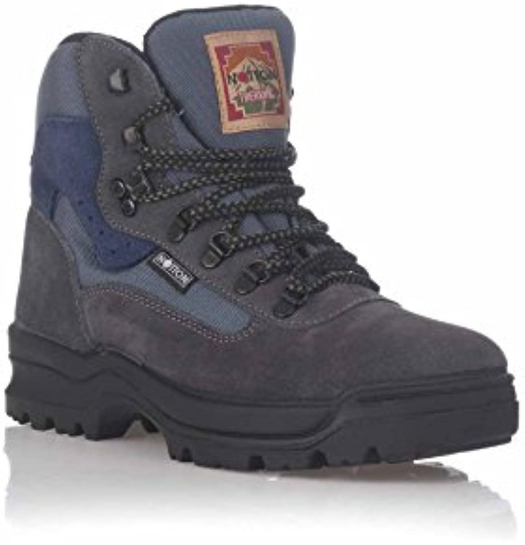 notton Bota Trekking en Piel Serraje  Venta de calzado deportivo de moda en línea