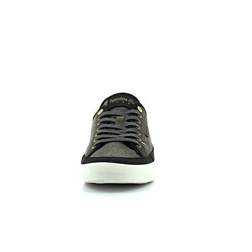 Schuhe Pantofola d ' Oro Veneto Canvas Low Men Dark Shadow Noir