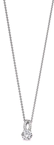 VIVENTY Damen-Ketten mit Anhänger 925_Sterling_Silber zirkonia 777632