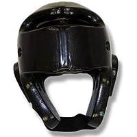 Artes Marciales Espuma Sumergida Protector De Cabeza - Negro ( Capa Individual ) - Mediana