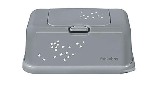 Funkybox blanc avec des coeurs gris
