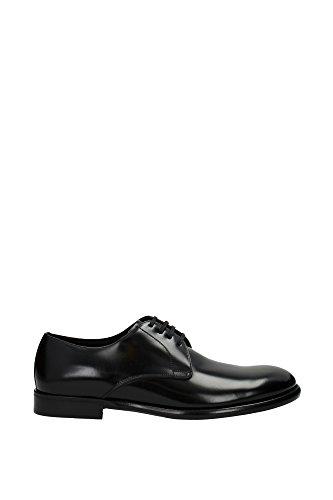 A10007AC46080999 Dolce&Gabbana Derby Homme Cuir Noir Noir