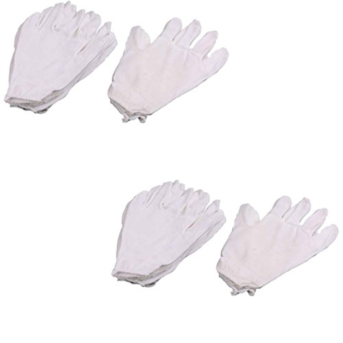 Ezee Disposable Cotton Hand Gloves - 40 Pieces