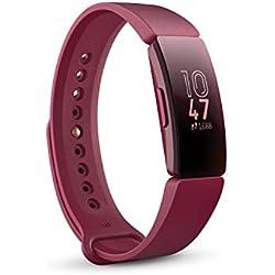 Fitbit Inspire - Monitores de Actividad, Adultos Unisex, Vino, Talla única
