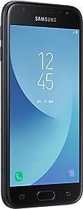 Samsung Galaxy J3 Smartphone (12,67 cm (5 Zoll) Display, 16 GB Speicher, Android 7.0) schwarz