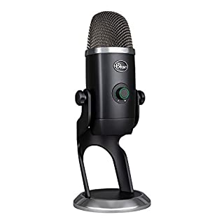 Blue Microphones 988-000244 Yeti X Professional USB Microphone for Gaming, Streaming and Podcasting Schwarz