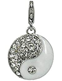 Charm Yin und Yang aus Stahl by Charming Charms