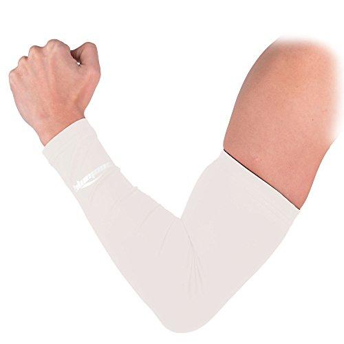 coolomg-manche-coudiere-protection-de-bras-uv-antiglissant-compression-elastique-de-sport-1-piece-en