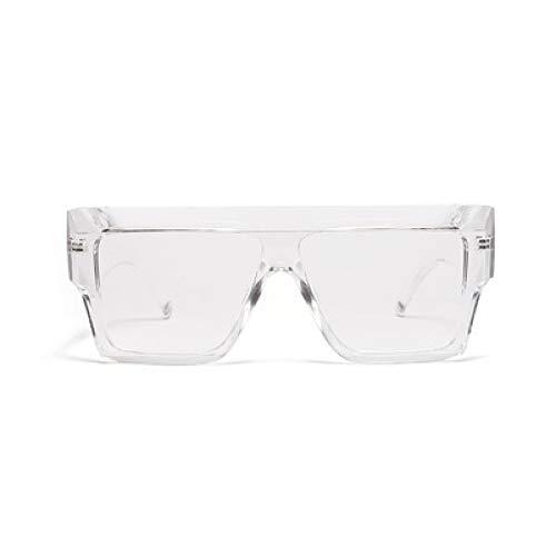 WET0VSD New Sonnenbrille Frauen Jelly Farbe Übergroßen Dicken Rahmen Schwarz Grau Sonnenbrille Damen Rosa Brillen