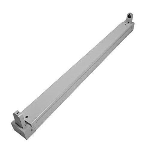 Mount Tube Socket (Synergy 21s21-led-000501Lightbulb Socket–Light Mounts & Zubehör (Lightbulb Socket, Ceiling, Grey, IP20, CE, LED))