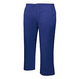 MISEMIYA Pantalón Cintura Baja con Cordón Uniforme Laboral Clinica Hospital Dentista Limpieza Vestuario Medico utilidades de Trabajo Unisex Adulto