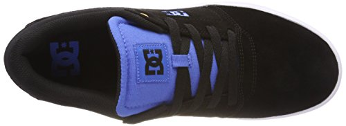 Dc Shoes Crisis, Sneaker Uomo Schwarz (noir / Noir / Bleu - Combo Xkkb)