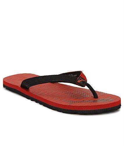 Puma-Unisex-Miami-Fashion-II-Idp-Black-and-High-Risk-Red-Flip-Flops