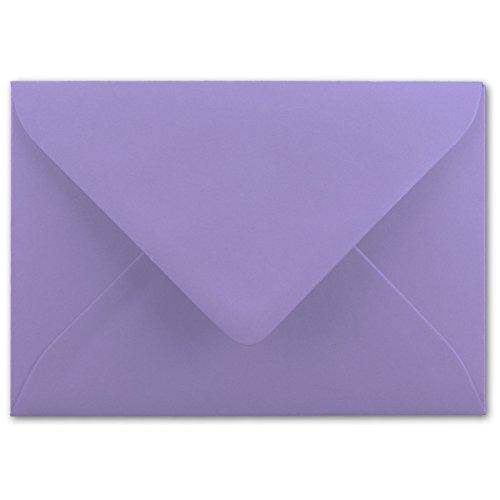 lieder | 75 Stück | 80 g/m² | in DIN B6 Format 125 x 175 mm | Nassklebung | Post-Umschläge ohne Fenster | ideal für Weihnachten, Grußkarten und Einladungen | Serie FarbenFroh (Schwarz Und Weiß Halloween-seite)