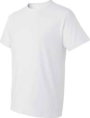 Koi auf American Apparel Fine Jersey Shirt Weiß