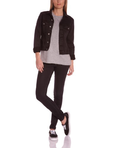 Cheap Monday - Giacca, donna, Nero (Noir (Wash Black)), XS