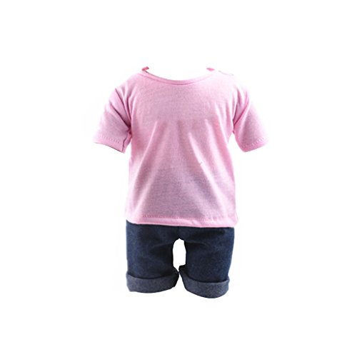 casual-pink-t-shirt-jeans-clothes-set-for-18-inch-american-girl-doll